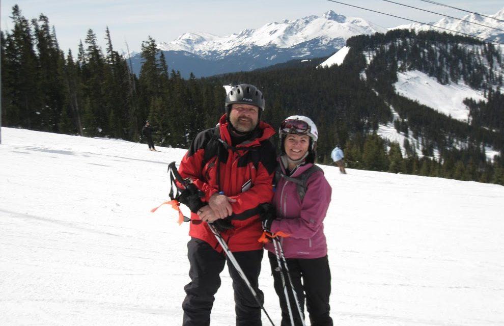 Who do you ski with?