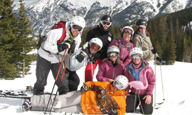 Skiing with the Girlz.