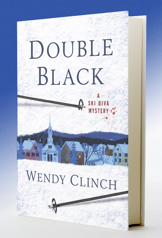 It's Launch Day for DOUBLE BLACK: A SKI DIVA MYSTERY