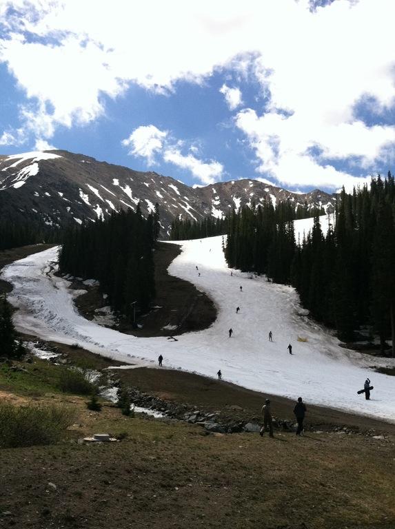 A Basin in July