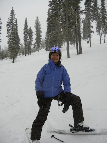 I love the tree skiing at Big Sky!