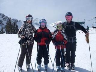 Meet Kristen Lummis, Brave Ski Mom
