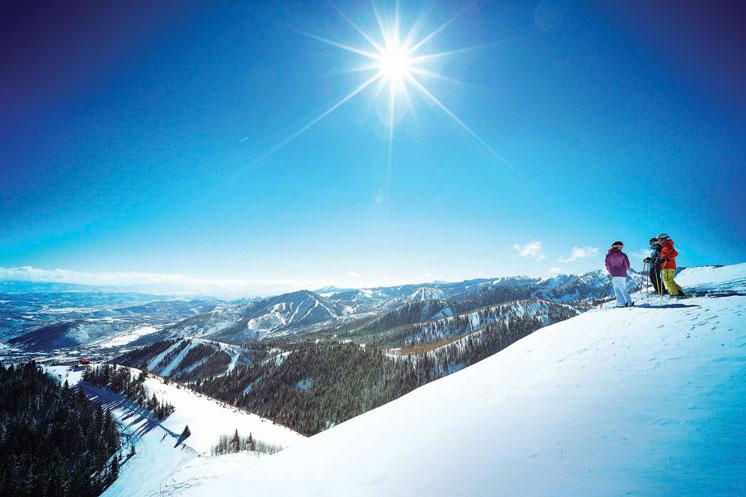 The Restorative Power of Skiing