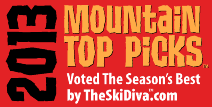 2013 Mountain Top Picks: TheSkiDiva.com's Annual Best-Of Awards