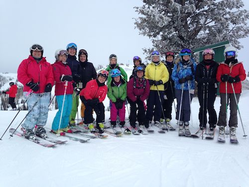 Some of the Divas who came to Snowbasin.