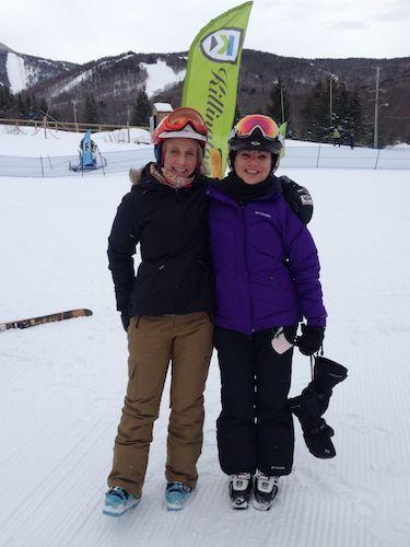 Me with Donna Weinbrecht