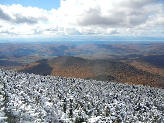 Late Fall, Camel's Hump, VT