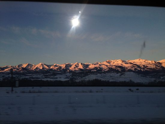 Morning in the Wasatch, UT
