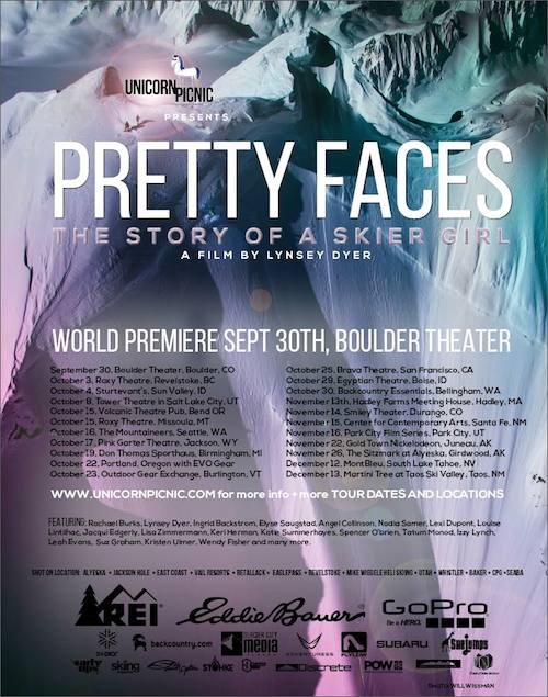 Movie Review: Pretty Faces, Lynsey Dyer's all-female ski movie