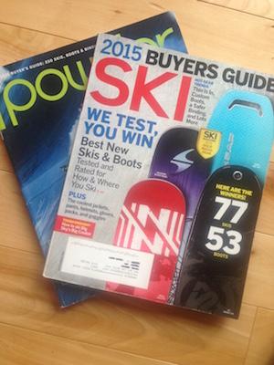 A review on ski reviews.