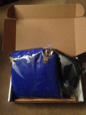 GetOutfitted apparel arrives beautifully packaged.