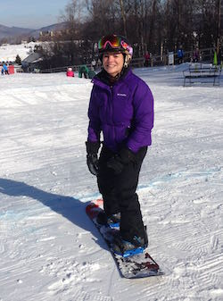 Learning to board: Yes, really, I gave it a try.