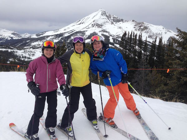 Why do a women's ski trip.