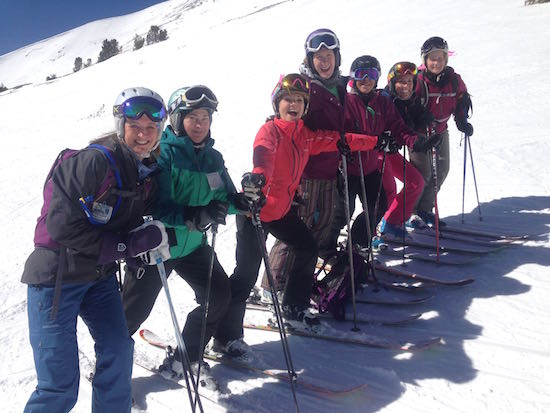 Why do a women's ski trip?