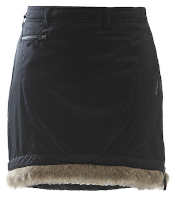 Skhoop Fur Trim Skirt