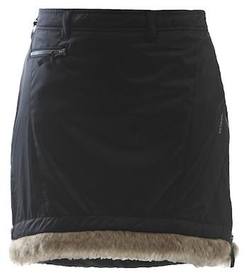 Skhoop Fur Trim Skirt