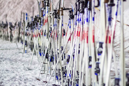 The Great Ski Pole Mystery
