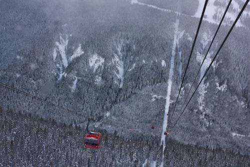 Peak-to-Peak Gondola, Whistler, BC