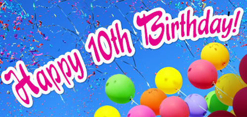 Happy-Tenth-Birthday-With-Colorful-Balloon