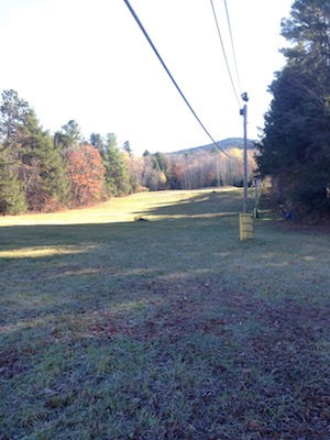 Ascutney's rope tow.
