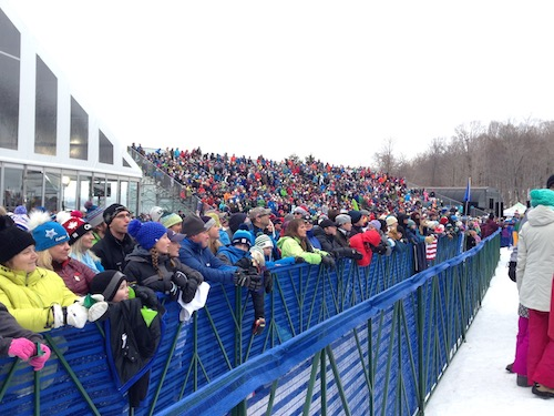 Just a few of the people who showed up for the race.