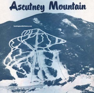 Mount Ascutney Trail Map, 1969