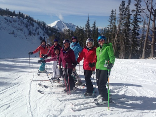 Ski Divas at Big Sky.