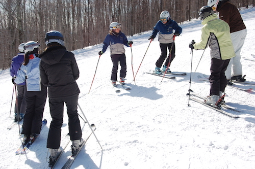 Okemo's Women's Alpine Adventures. Photo courtesy of Okemo..