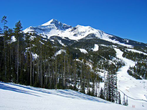 Lone Peak at Big Sky