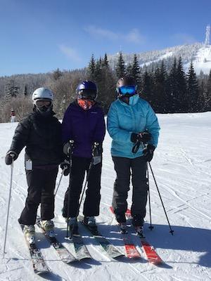 Three Ski Divas