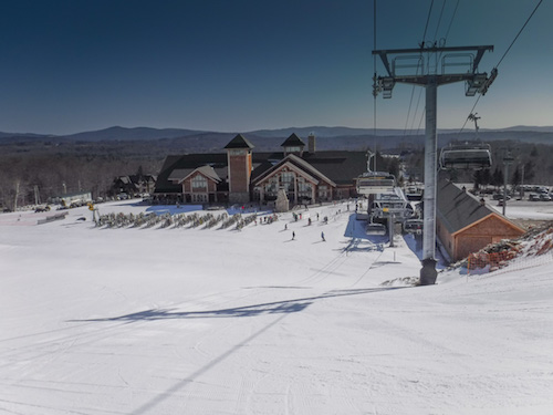 Skiing at a Private Resort: The Hermitage Club, Wilmington, VT