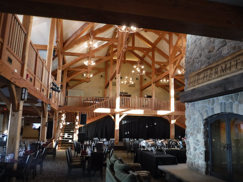 Lodge Interior, photo by Peter Hines.