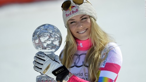 Should Lindsey Vonn Race Against Men?