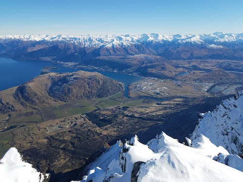 The Remarkables, New Zeland - The view from the Remarkables resort truly lives up to the name