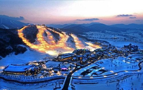 Alpensia Resort, South Korea.
