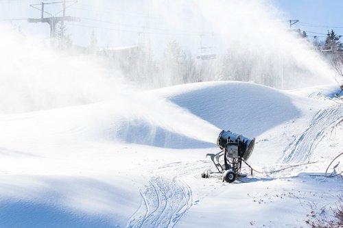 Snowmaking Photo courtesy of Mount Snow