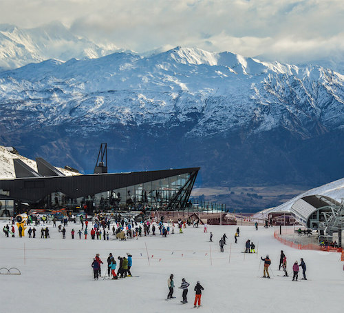 The Remarkables Ski Area, New Zealand
