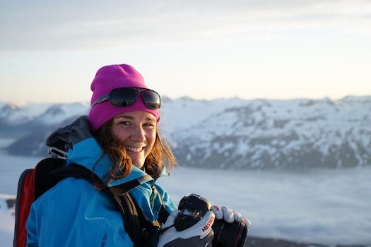 "A chat with filmmaker Colleen Gentemann, producer of the ski film ""DREAM JOB"""