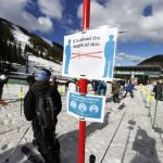 What's it like to ski with the COVID restrictions in place?