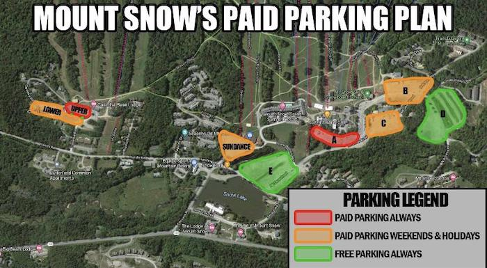 Paid parking is coming to Mount Snow. And yes, the price is too damn high.