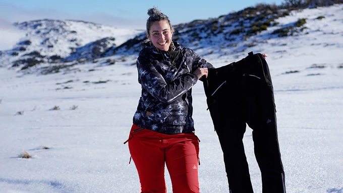 A chat with Maria Baker of Nobody's Princess: Snow Pants Made By Women, For Women